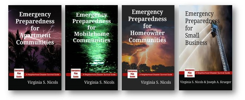 The Neighborhood Disaster Survival Series - Emergency Preparedness for Apartment Communities, Mobilehome Communities, Homeowner Communities and Small Business.