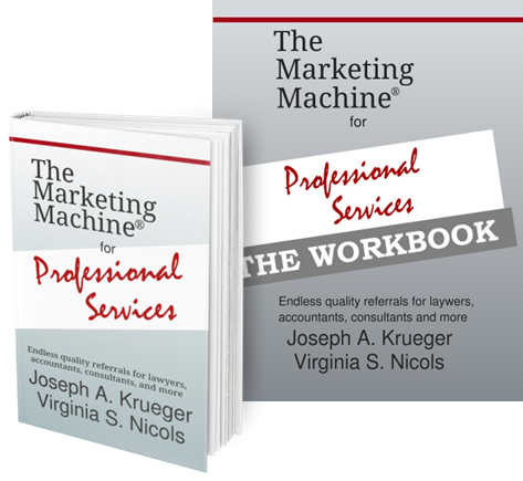 The Marketing Machine for Professional Services Book and Companion Workbook